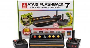 Atari console with box